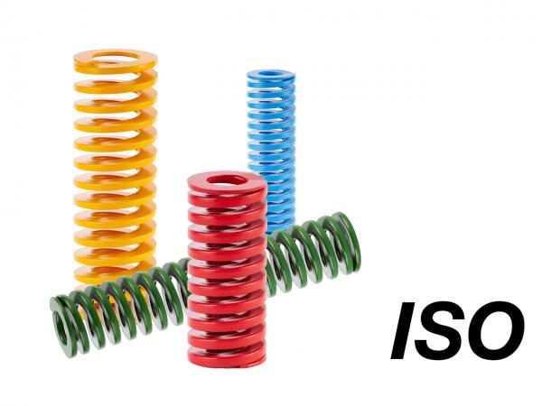 Sprężyna zwojowa wg normy ISO 10243